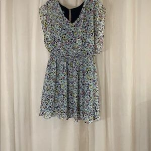 By & by floral dress